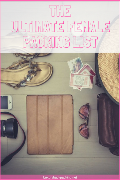 Ultimate Female Packing List