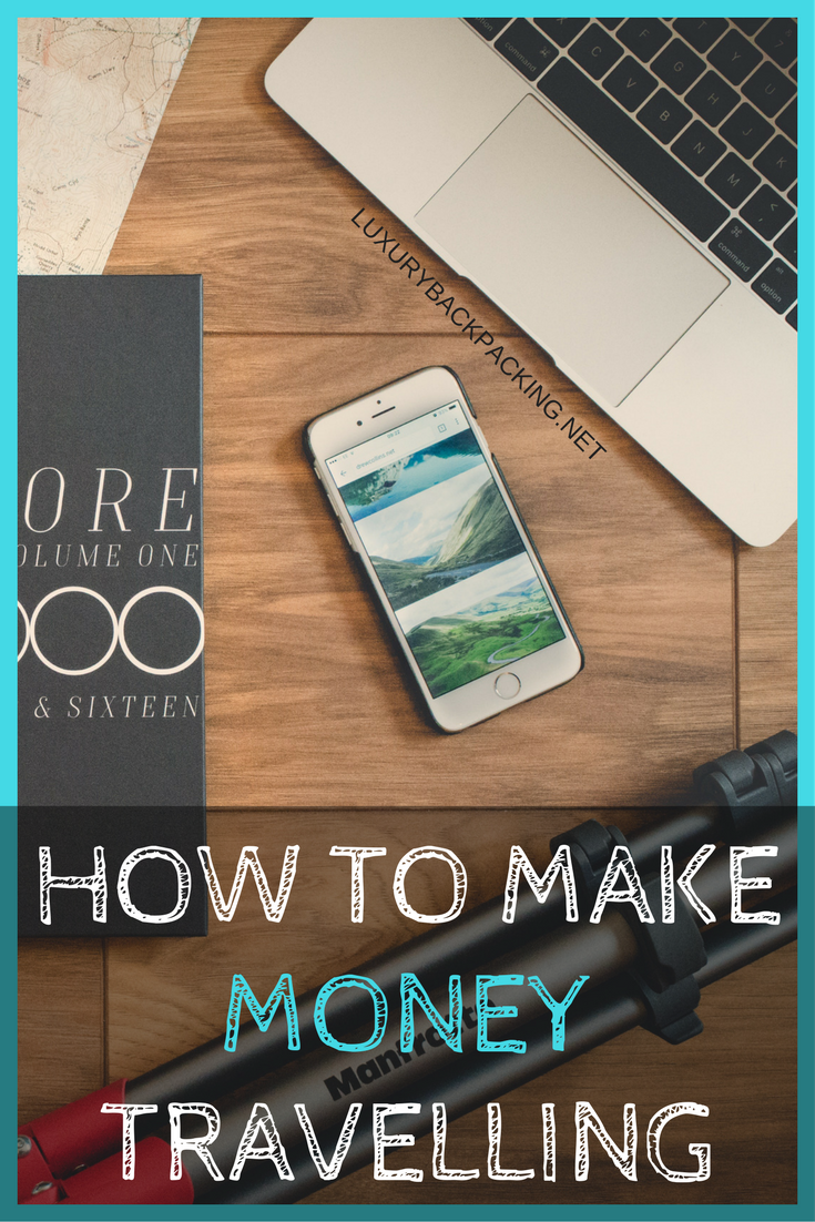 how to make money travelling - Pinterest Pin