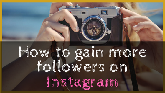 Gain more followers on IG