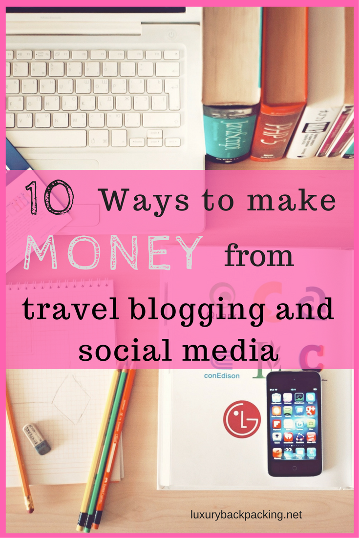 Make money travel blogging
