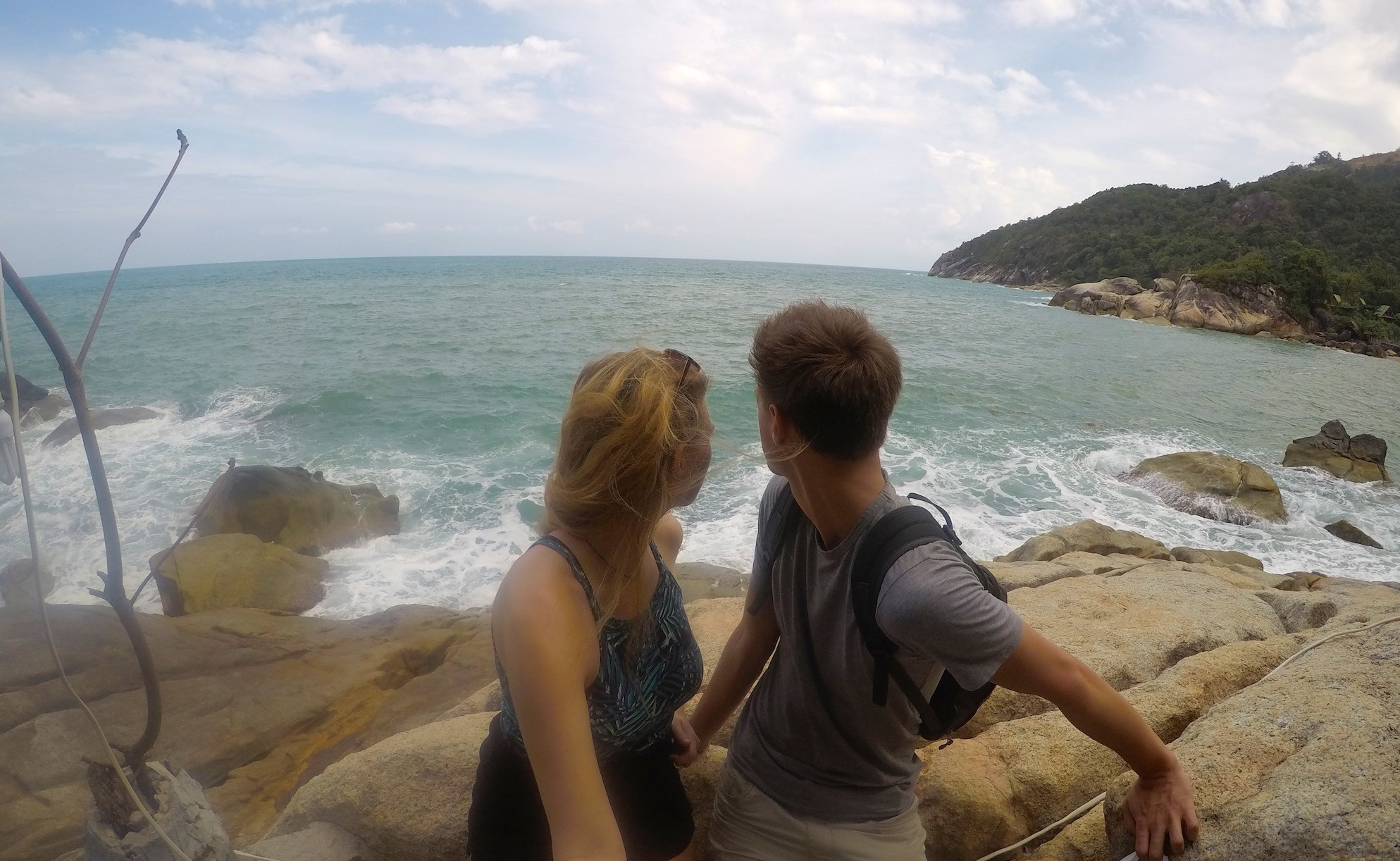 travelling as a couple in Thailand