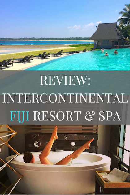 Review of the Intercontinental Fiji Resort & Spa